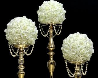 Pearl Wedding Decor Etsy