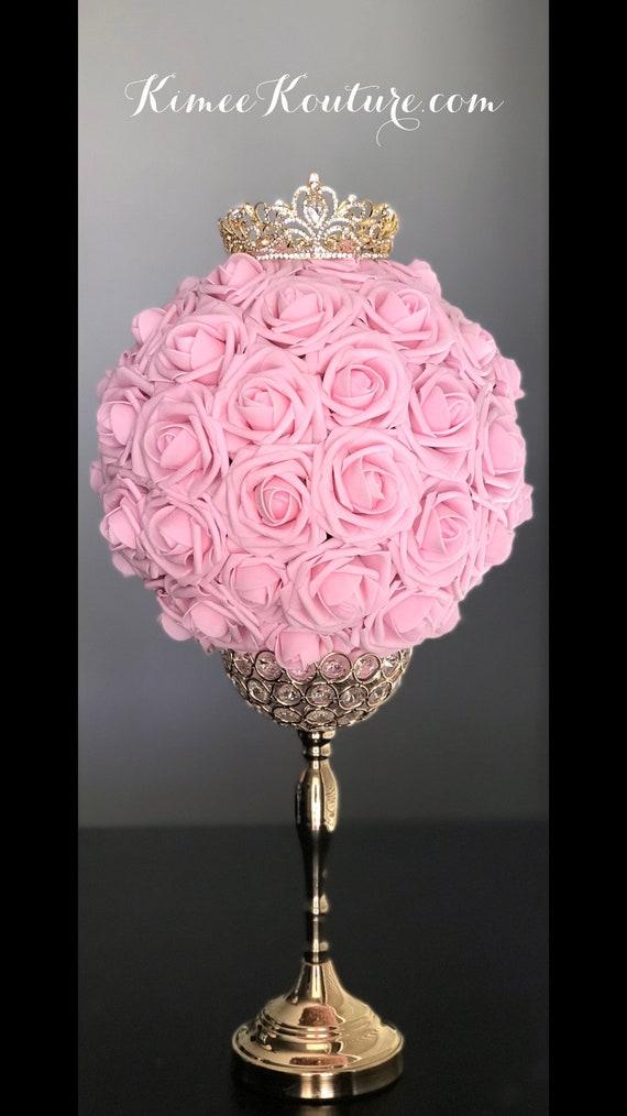 Gold Crown Centerpiece Princess Wedding Centerpiece