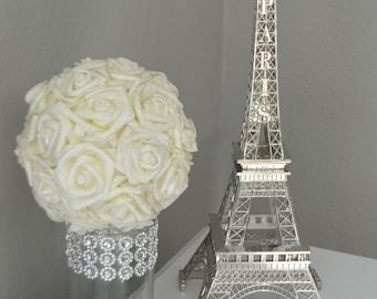 Eiffel Tower Centerpiece. Parisians Theme Decor. Paris Wedding Decor. French inspired centerpiece. Pick Your Color.