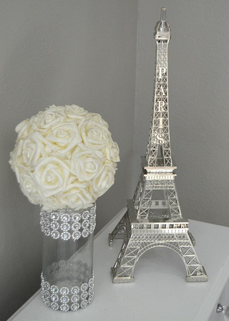 Eiffel Tower Centerpiece. Parisians Theme Decor. Paris Wedding image 0