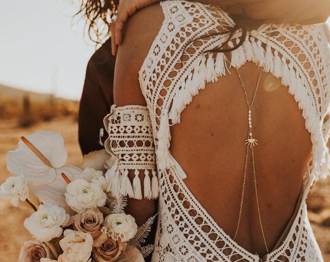 Sun Goddess Back Chain