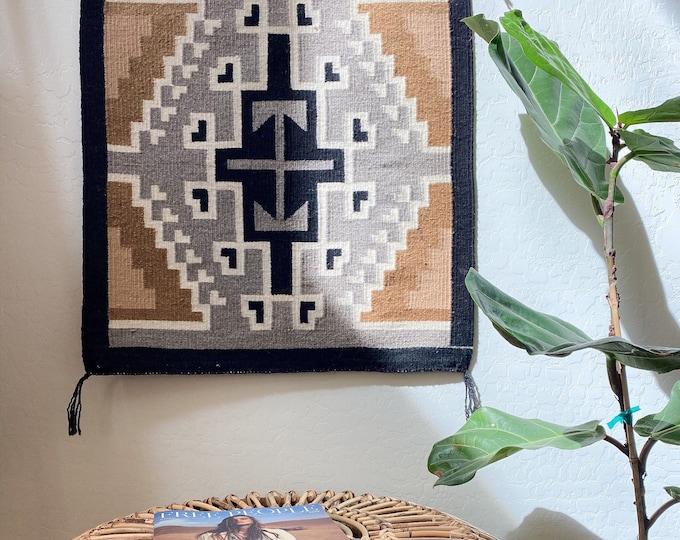Desert Modern Wall Textile (Native American Made)