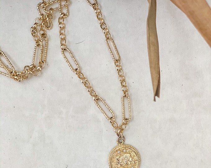 Zodiac Coin Necklace
