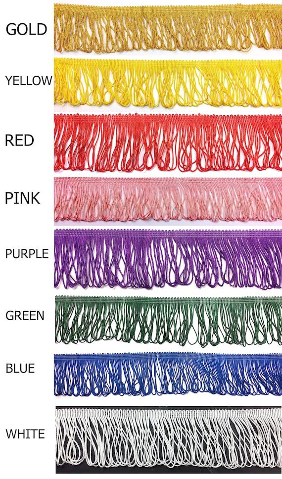 Quality Fringe SILK Braid Sewing Crafts Furnishing Trim Lace 70mm long
