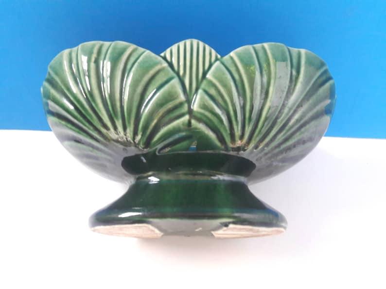 Retro Ceramic Planter Mid Century Ceramic Planter Made In America 1950s Planter. Vintage Planter
