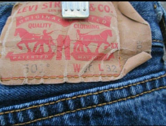 Vintage Levi 501, button fly//Levi's Strauss boyf… - image 4