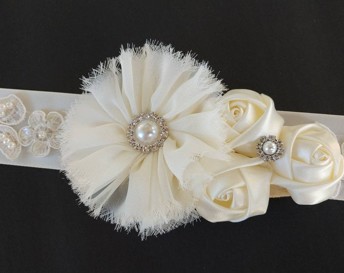 Belt Sash or Wrist Corsages