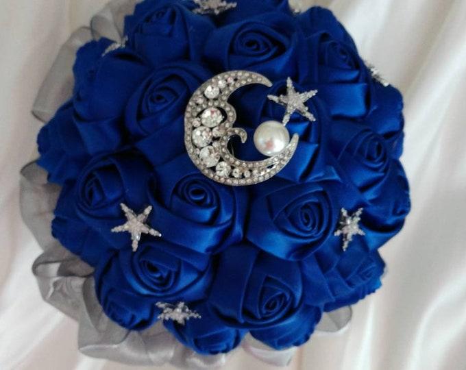 Celestial Moon Stars Bouquet