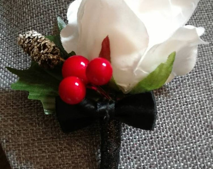 Boutonnières, Corsages and Lapel Pins