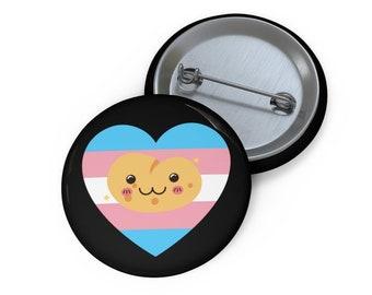 Trans Pride Potato Button