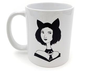 Cat Girl Mug