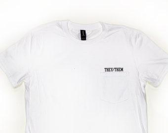 They Them Pocket Shirt
