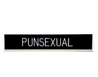 Punsexual Pin