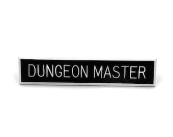 Dungeon Master Pin