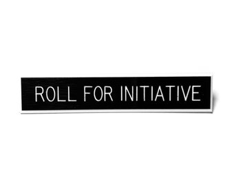 Roll For Initiative Pin