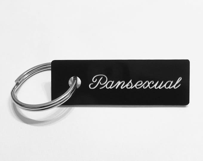 Pansexual Keychain