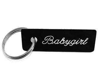 Babygirl Keychain