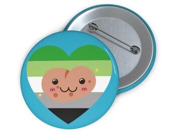 Aromantic Pride Potato Button
