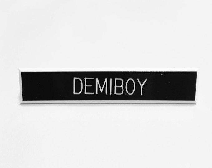 Demiboy Pin
