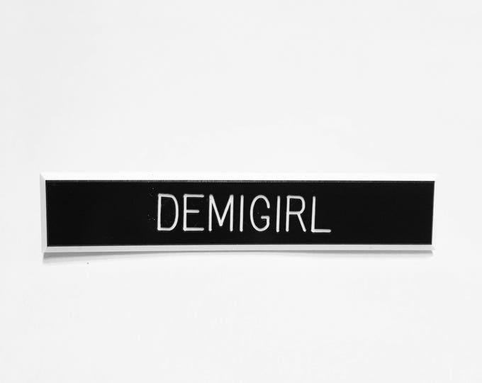 Demigirl Pin