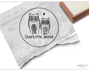 Owl Post Stamp