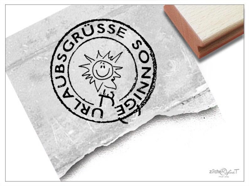 Stempel Poststempel Urlaubsgrüße