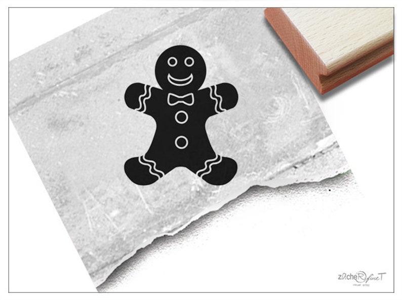 Weihnachtsdeko Lebkuchenmann.Stempel Weihnachststempel Kleiner Lebkuchenmann Bildstempel Zu Weihnachten Advent Karten Geschenkanhänger Geschenk Weihnachtsdeko