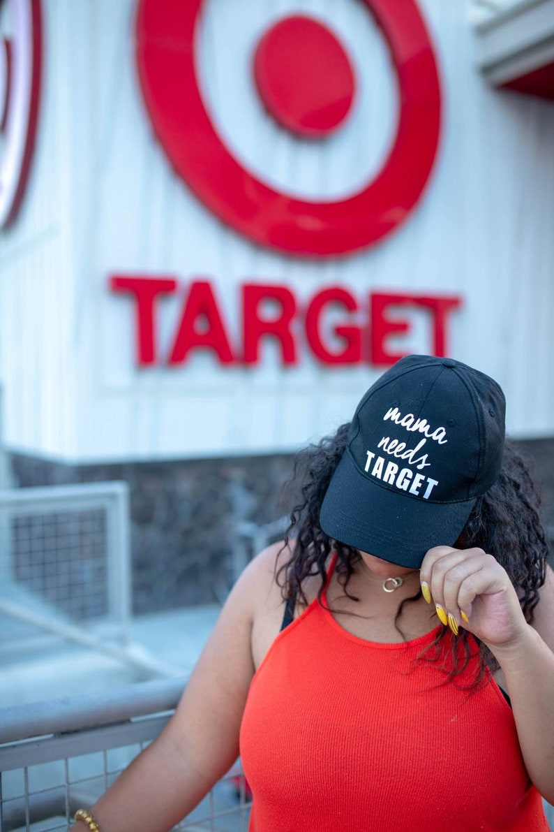 8064abbfa Mom Hat Mama Needs Target Baseball Hat Mom Life | Etsy