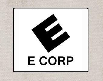 E Corp Mousepad