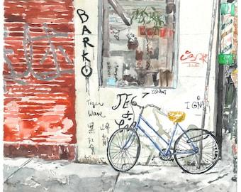 Barko Bike | Fine Art Print