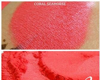 Coral Seahorse - Coral Eyeshadow Pigment - ili