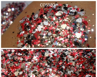 COSMO solvent resistant glitter blend - CLEARANCE