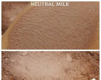 Neutral Milk - Matte Light Brown Mineral Pigment  - Eyeshadow - ili