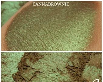 Cannabrownie - Brown Green Eyeshadow Pigment - ili