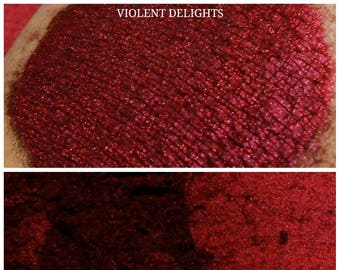 Violent Delights - Deep Red Eyeshadow Pigment - ili