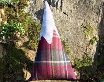 Tweed Mountain Cushion - Large