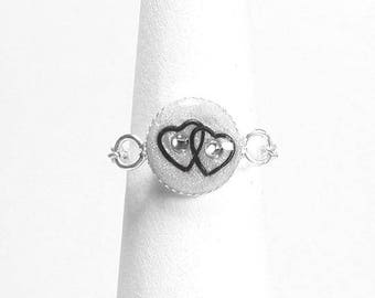 Ring chain symbol of love