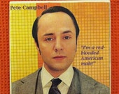 Items similar to Pete Campbell Mad Men Ceramic Tile ...