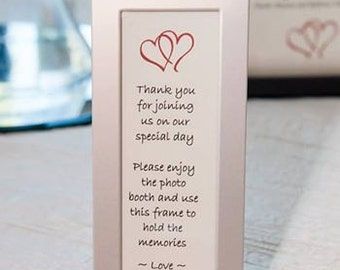 RILLI Wedding Favors - 2x6 Silver Aluminum Photo Booth Strip Frame - perfect favor for any occasion