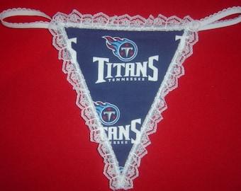 21352662749 Womens TENNESSEE TITANS G-String Thong Female Lingerie Football Underwear  Nfl