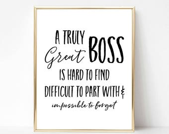 graphic regarding Free Printable Funny Boss Day Cards identify Manager appreciation Etsy