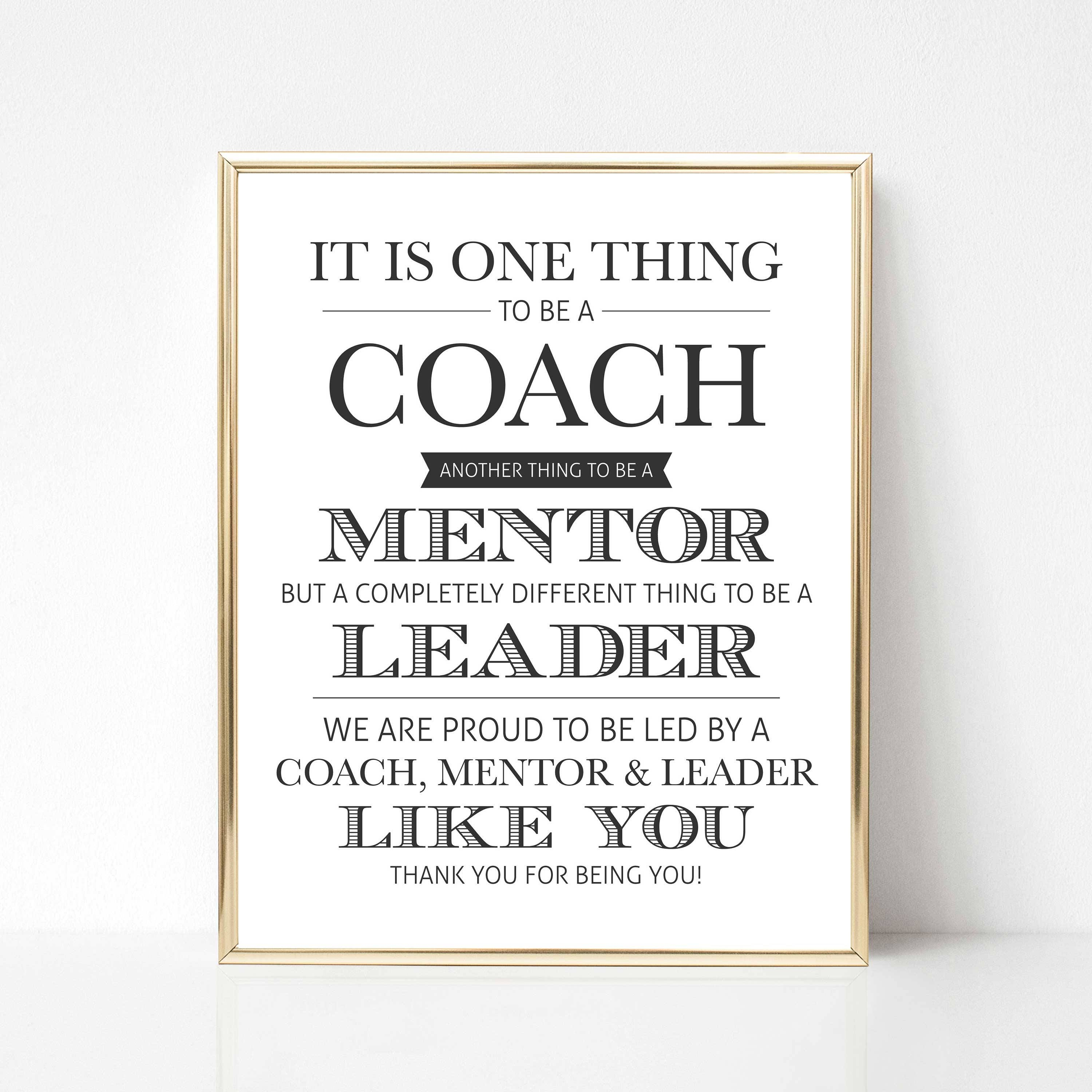 Digital Coach Quote Gift We Best Coach Quote Gift Coach Etsy
