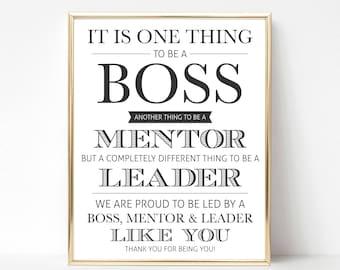 Digital Boss Thank You Gift (We) | Best Boss Appreciation Gift | Boss Appreciation | Boss's Day Gift | Boss Gift | Boss Printable Gift