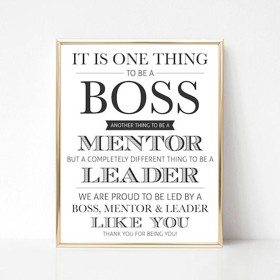 Digital Boss Thank You Gift We Best Boss Appreciation Gift Etsy