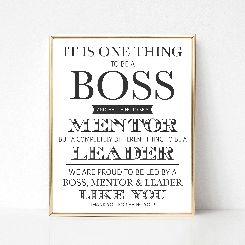 Digital Boss Thank You Gift We Best Boss Appreciation Gift ...