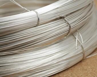 0.3 mm .925 Sterling Silver Soft Round Wire 28 Gauge