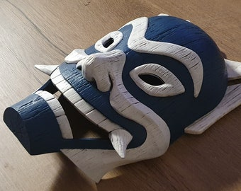 Avatar: The Last Airbender Inspired Blue Spirit Mask