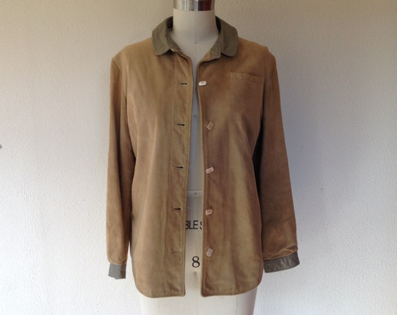 1960s Samuel Robert suede leather jacket