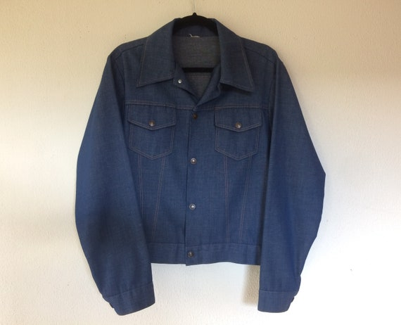 1970s Blue denim jacket