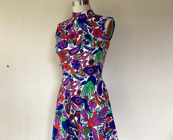 1960s Mod mini dress